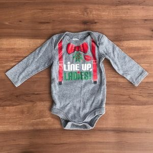 Christmas Holiday Onesie 3-6 months
